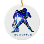 Aquarius Zodiac Ornament